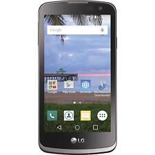 LG STLGL44VCPWP Rebel L44C Straight Talk 4G LTE Prepaid Smartphone