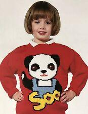 "FCk21 - Knitting Pattern - Sooty - Soo DK Children's & Adults Jumper - 22-40"""