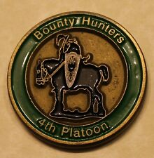 188th Military Police Company 4th Platoon Bounty Hunters Army Challenge Coin