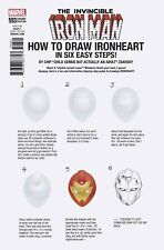 INVINCIBLE IRON MAN 593 CHIP ZDARSKY HOW TO DRAW VARIANT LEGACY NM