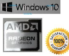 Amd Radeon Gráficos + Gratis Pegatina de PC Windows 10 7 Vista XP 8 Base de Computadora de Reino Unido