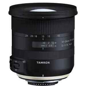 Tamron SP 10-24mm f/3.5-4.5 Di II VC HLD Lens for Nikon F