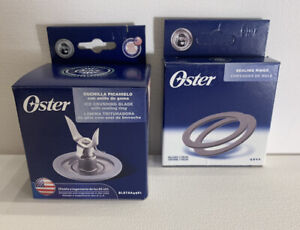 Genuine Oster Blender Blade 4961 with 2 Oster Sealing ring pack 4900 New
