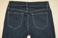 J. Crew Toothpick Slim Skinny Jeans Women's Size 25 Dark Wash Stretch Denim