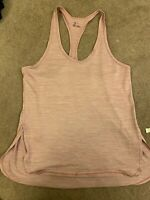 Z by Zella tank top size large pink purple yoga athletic workout