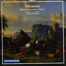 Michael Schneider, G.P. Telemann - Wind Concertos 7 [New CD]