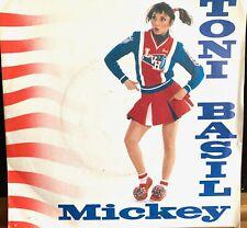 MICKEY TONI BASIL UK BRITISH PRESS VINYL 45 RECORD HANGING AROUND PICTURE SLEEVE