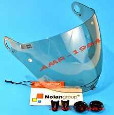 VISOR ORIGINAL NOLAN N43 FUME' + SET SCREWS VISOR BLACK N43E 0171-0110