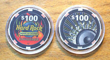 $100. Hard Rock Hotel Casino Chip Golf Ball Marker - Albuquerque, New Mexico