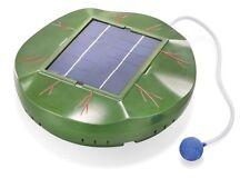 Solar Teichbelüfter Pumpe Sauerstoff schwimmender Teichlüfter Teichbelüftung Neu