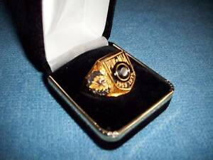 Vietnam POW-MIA Ring Mens Size 13  - Franklin Mint