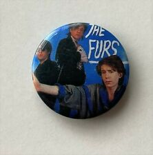 More details for psychedelic furs old metal button badge from the 1980's retro  indie