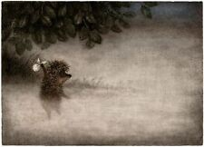 Hedgehog in the Fog Y.Norstein's/Norshteyn animation Signed Giclée (Hedgehog)