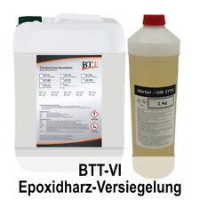 BTT-VI Versiegelung 15,0 kg, 2K Epoxidharz Versiegeln/Schützen von Untergründen