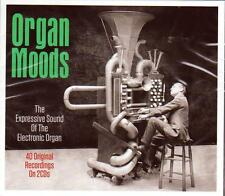 ORGAN MOODS -  EXPRESSIVE SOUND OF THE ELECTRONIC ORGAN (NEW SEALED 2CD)