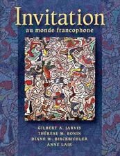 Invitation au Monde Francophone by Th�r�se M. Bonin, Anne Lair, Diane W....