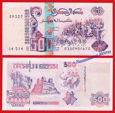 ARGELIA ALGERIA 500 Dinares dinars 1998 Pick 141 SC / UNC