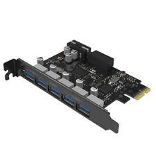 ORICO PCI Express to 7 Port USB 3.0 Hub Card Adapter(5 on PCI Slot / 2 Internal)