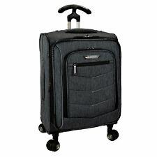 "Silverwood 21"" Carry-on Expandable 8-Wheel Spinner Ergonomic Handle Luggage"