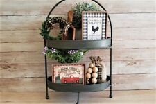 5 Piece Mini Sign Set / Tiered Tray Bowl Filler / Farmhouse Rustic Décor