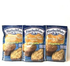 Martha White~ banana Nut Muffin Mix 3 Bag Pack - 7 Oz Each