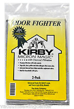 Kirby Micron Magic Odor Fight F Style Vacuum Bags 2 Pack 202816