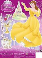 Disney PRINCESS-BELLE Wall Stickers Set For Windows, Boxes & Folders