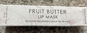 Seraphine Botanicals Fruit Butter Lip Mask .52 oz New & Sealed in Box