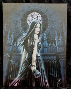 GOTHIC SIREN CANVAS - GOTH - ANNE STOKES - FREE UK POSTAGE - SPECIAL OFFERS