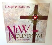 "Simple Minds - ""New Gold Dream"" 1982 Original Vinyl Record LP NM! A&M SP-6-4928"