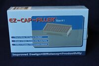 50 holes EZ-CAP-FILLER capsule filler machine size 4,3,2,1,0,00,000 respectively