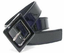 """#WN148 - 1.25"""" WIDE PATENT LEATHER LADIES BELT IN BLACK, BROWN, RED OR WHITE"""