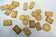 VINTAGE DECORATIVE BISCUIT LOT ARTIFICIAL OLD REALISTIC COLLECTIBLES BEAUTIFUL