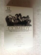 Masters of Comedy Slapstick Greats Dvd Box Set,Laurel&Hardy,3 Stooges,Keaton