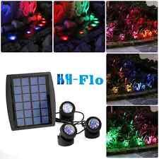 Solar Power 18LED Underwater Spotlight Light good for Garden Swimming Fish Pool