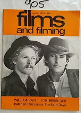 Films & Filming 1979 March,Butch & Sundance Early Days Cover,The Deer Hunter