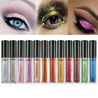 12 Colors Smoky Eye Shadow Makeup Pearl Metallic Glitter Eyeshadow Powder