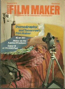 RARE - TODAY'S FILM MAKER Magazine - August 1973 - Surrealism 1920 - 16 or 35 mm