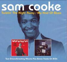 SAM COOKE - TWISTIN' THE NIGHT AWAY / MY KIND OF BLUES + BONUS TRACKS (NEW 2CD)
