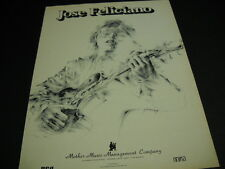 Jose Feliciano Mother Music Management 1973 Promo Poster Ad mint condition