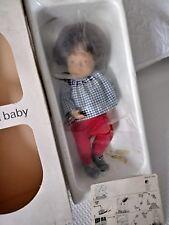 Vintage Sasha Baby Doll Brunette White Bird 508 Box & Sealed