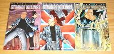 Warren Ellis' Strange Killings: Strong Medicine #1-3 VF/NM complete series set