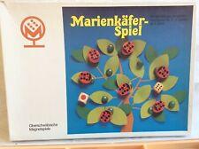 153) Marienkäfer-Spiel mit Holzfiguren Nr.6006 Oberschwäbische Magnetspiele *