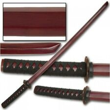 Ace Martial Arts Supply Kendo Wooden Bokken Practice Samurai Katana Sword,