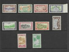 Cook Islands 131-40 1949 Set Mint NH Retail $46.40