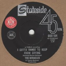 Miracles I Gotta Dance To Keep From Crying Stateside stkr demo OSS-104 Soul Nort