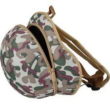KIDS ARMY RUCKSACK CAMOUFLAGE HELMET SHAPE BOYS GIRLS CAMO DAYSACK SCHOOL BAG