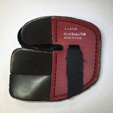 NEW Black Widow Split-Finger Super Leather Shooting Tab, X-Large