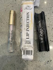 Too Faced Lip Injection Extreme lip plumper 4g long term boxed GENUINE