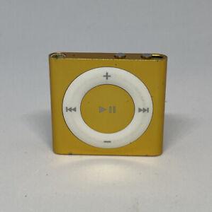 Lecteur Multimédia Apple iPod shuffle 4ème Gén Yellow  1 Go (Dernier Modèle)